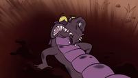 S1E3 Crocodile minion in the dirt