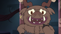 S3E24 Yak monster 'you're happy at me?'