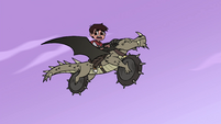 S4E22 Marco and Nachos flying through the air