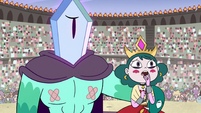 S4E24 Eclipsa looks at Meteora with worry