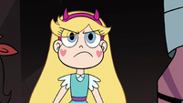 S4E33 Star Butterfly looking determined