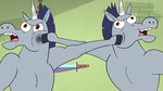 S3E37 Two warnicorns punch each other