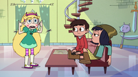S3E23 Star explaining to Marco and Janna