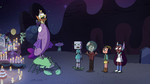 S4E14 Quasar and friends looking confused