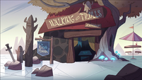 Interdimensional Field Trip background - Walking with Trolls