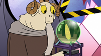 S2E25 Image of Mewman corn appears on Omnitraxus' orb