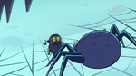 S2E2 Giant spider looming over Ludo