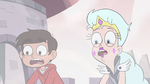 S3E7 Marco Diaz and Queen Moon in complete shock