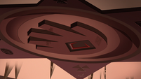 S1E15 Blood Moon Ball hand-shaped skylight