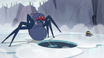 S2E2 Giant spider shoots web into the water