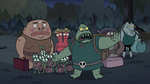S3E31 Buff Frog 'not in front of children'