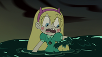 S3E7 Star Butterfly covered in black ooze