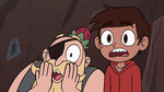 S4E2 Marco and River gasp in shock
