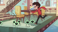 S2E11 Marco chases after the running tadpoles