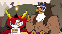 S3E38 Talon agreeing with Hekapoo's idea