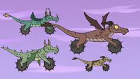 S4E22 Wild dragon-cycles fly through the sky
