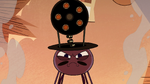 S2E22 Spider With a Top Hat looking very angry