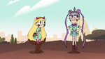 S2E9 Star Butterfly confused; Mina excited