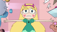 S2E1 Star Butterfly lying on the floor