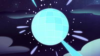 S2E33 Bounce Lounge disco ball shining bright