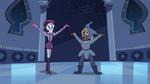 S3E6 Mime Girl and Foolduke making an entrance