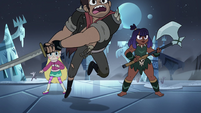S4E5 Adult Marco leaping into battle