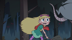 S3E1 Star Butterfly tosses the rat away