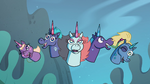S4E19 Pony Head sisters reveal themselves