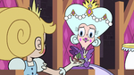 S2E40 Queen Moon takes twig from Star Butterfly