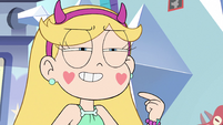 S3E34 Star pointing at herself