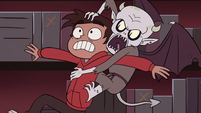 S4E13 Marco with Relicor latched to his back