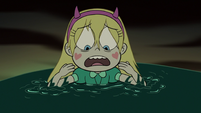 S3E7 Star Butterfly's cheek emblems stop glowing