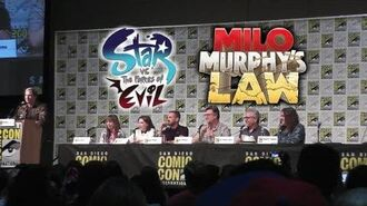 Star vs the Forces of Evil Milo Murphy's Law Panel - San Diego Comic-Con - HD