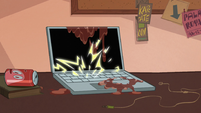 S1E4 Laptop shorting out