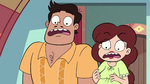 S3E32 Rafael and Angie shocked by the portrait