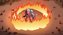 S3E37 Meteora trapped inside the Doom Nut
