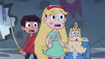 S4E1 Star, Marco, and River look puzzled