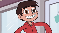 S2E24 Marco Diaz happy that Pony Head got a taxi