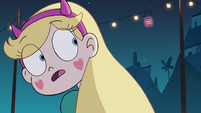 S2E41 Star Butterfly looking back at Oskar
