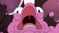 S3E14 Lint monster roaring in horror