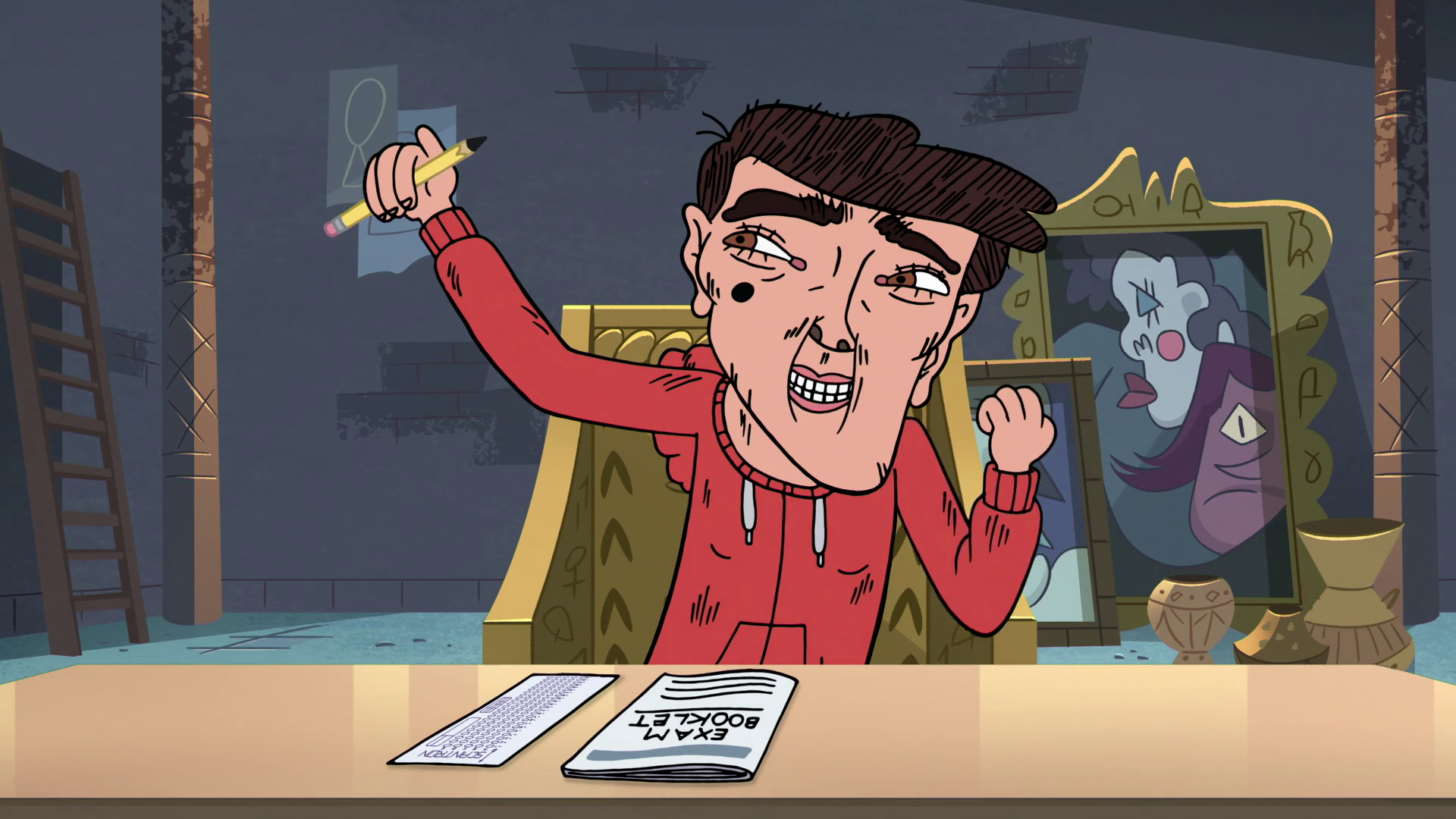 Image - S3E32 Marco successfully picks up the pencil.png | Star vs ...