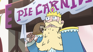 S4E1 King Butterfly eating a drumstick