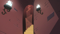 S2E25 Bureaucracy of Magic's long winding stairs