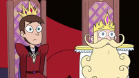 S3E10 King Dave and King River looking worried