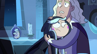 S3E2 Count Mildrew consoling Queen Moon