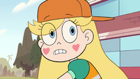 S2E38 Star Butterfly looks to see what she did