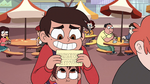 S4E26 Marco very close to a completed card