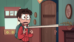 S1E6 Star grabs Marco by the collar