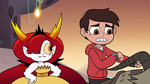 S3E22 Marco Diaz looking at his watch