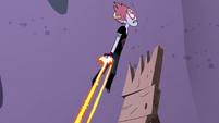 S4E22 Tom Lucitor rockets up into the air